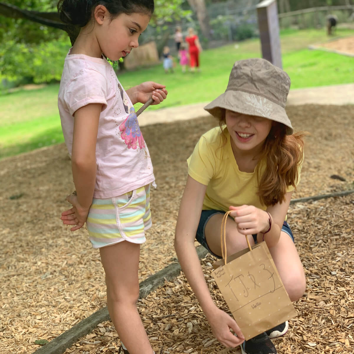 Alternative Primary School Melbourne - Two Friends Exploring Together