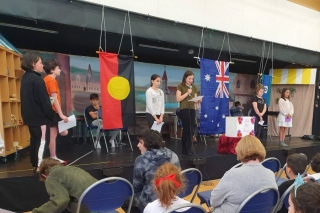 Anzac Day 2021 - Year 5 and 6 students