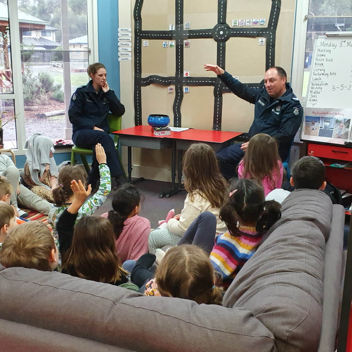 Our Community - A visit from the police
