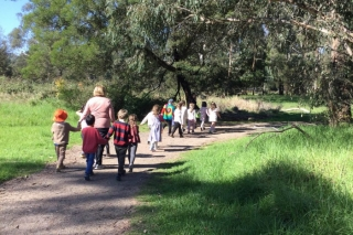Our Community - Walking to the post office
