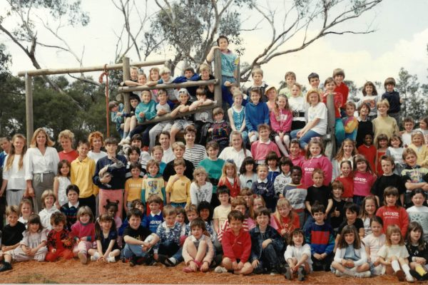 Our History - Whole School Photo from the 1980's