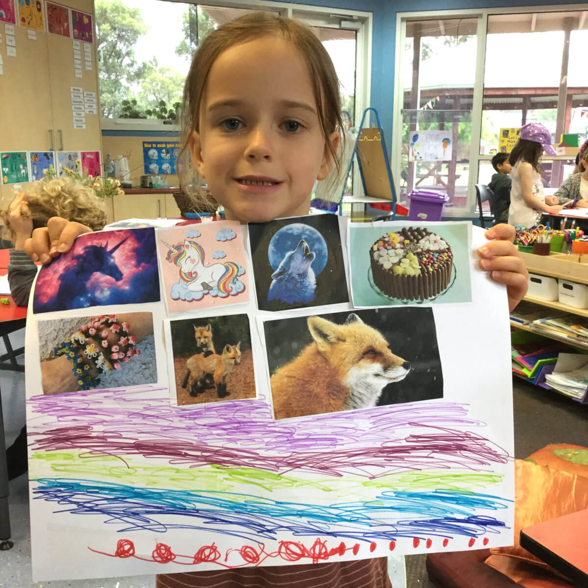 A poster about nature and wild animals