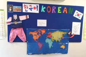 Learning about Korea