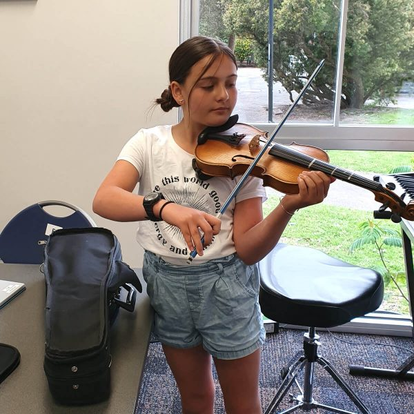 Music Lessons - Playing Violin