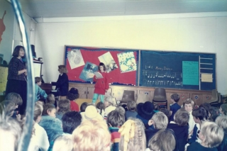 Our History - School performance and concert