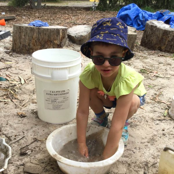 Outdoor Education - Sandpit Play