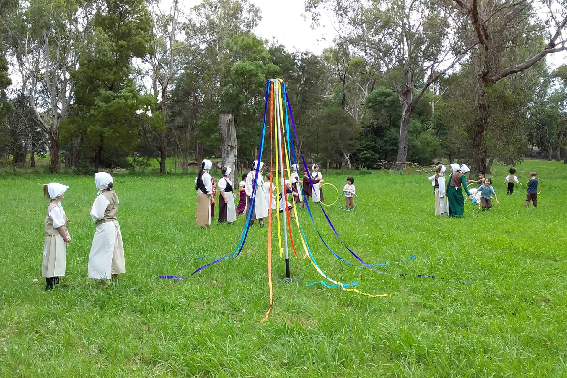Performance 2020 - Maypole and Hoops