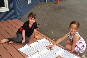 Personalised Learning - Working Outside on Verandah