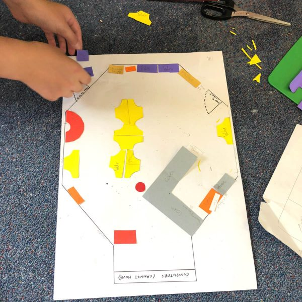 Primary School Homework - Classroom Floor Plan Project