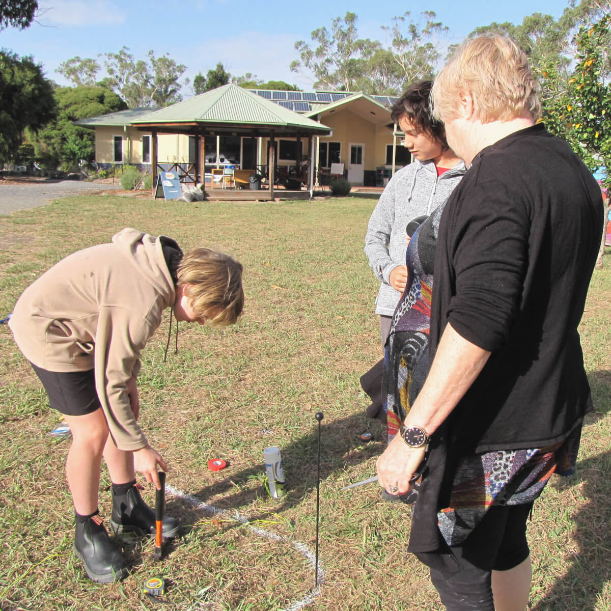 Primary School Reports - Doing Maths Outside