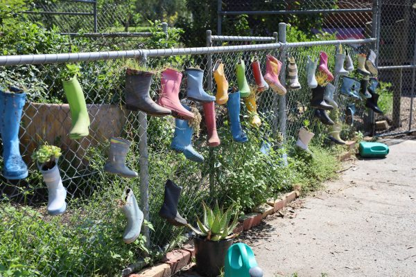 Private Secular School - Colourful Gumboots