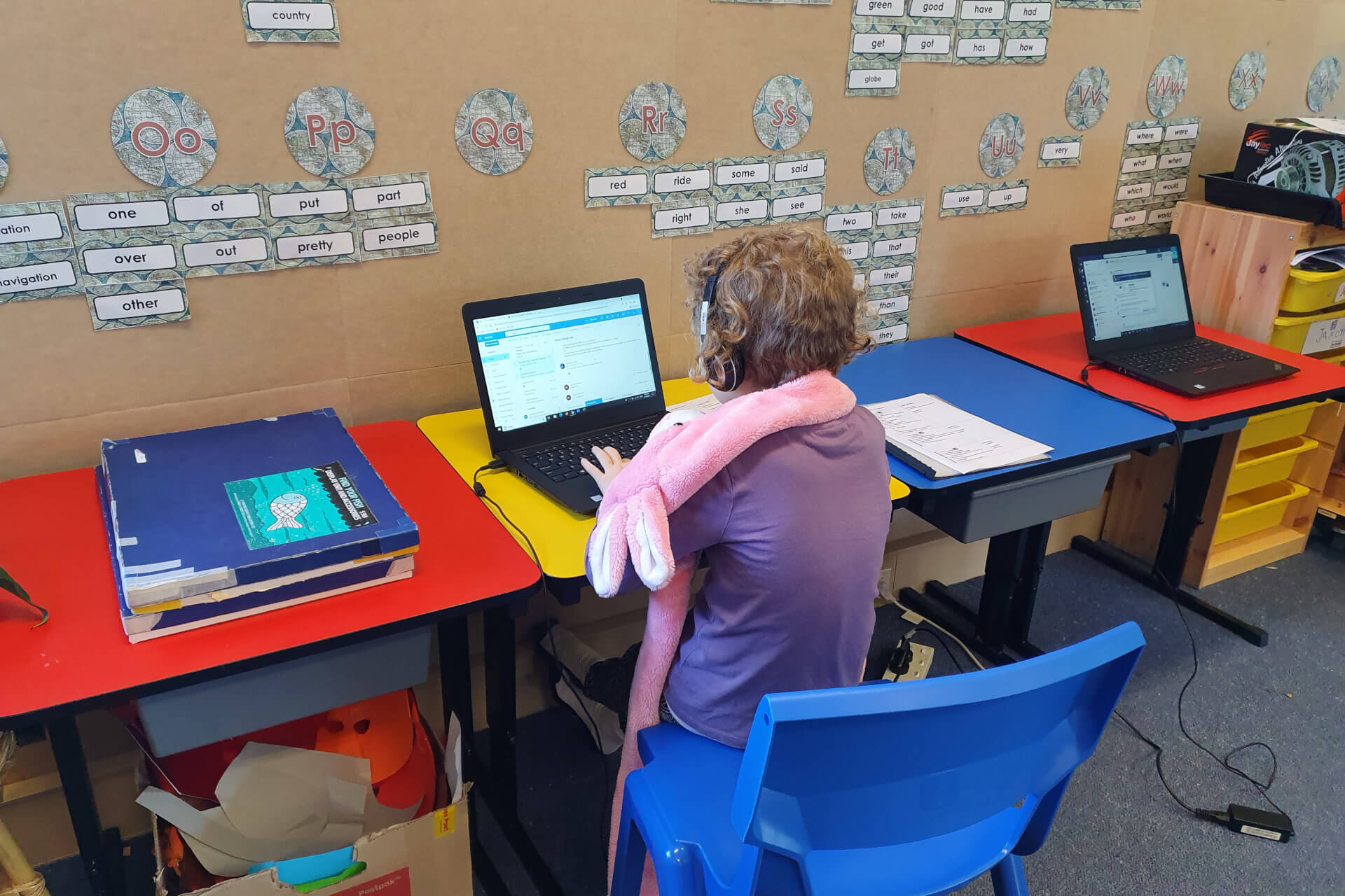 Remote Learning Again 2021