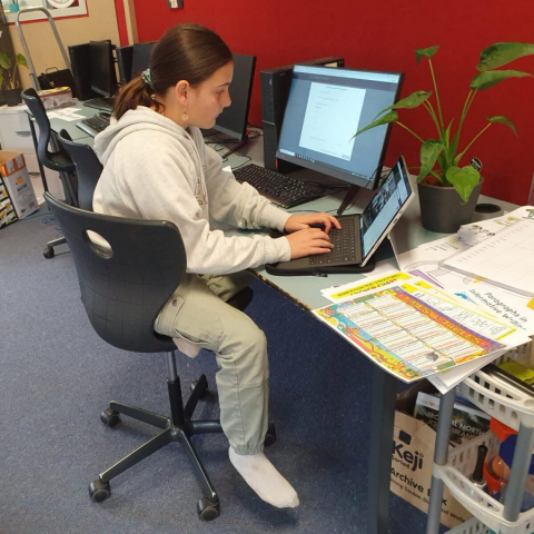 Remote learning at school