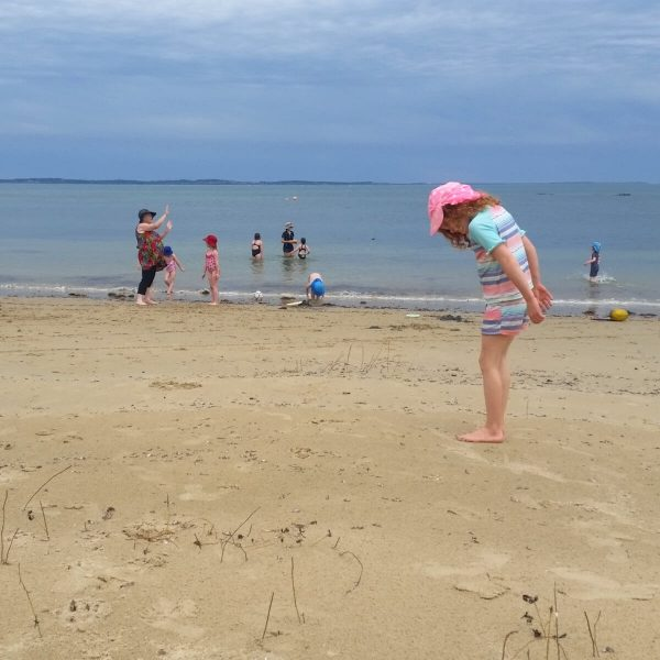 School Camp - Beach & Sand Play