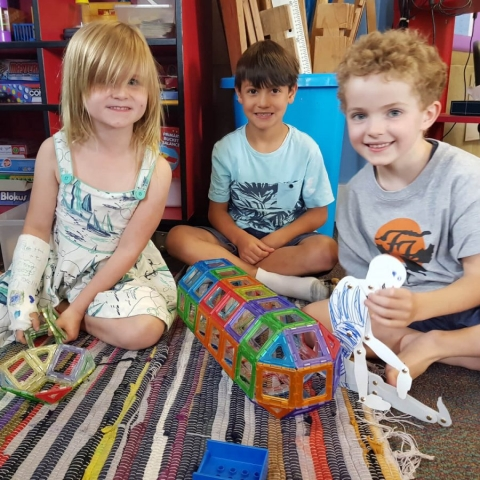 Our Holistic Philosophy - Children with Toys