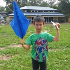 Science & STEAM - Flying a Kite