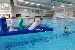 Swimming lessons at Croydon Leisure Centre