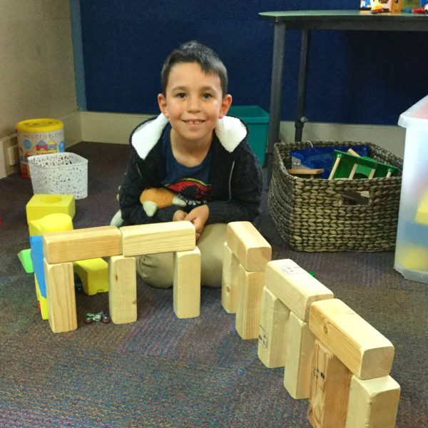 Technology - Building with Wooden Blocks