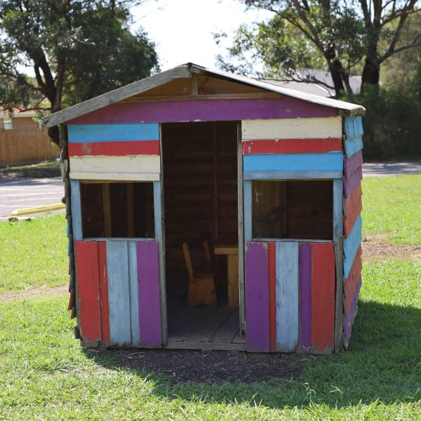 Village School Reviews - Painted Cubby House